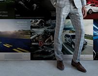Lexus // Ebony Magazine Congratulatory Ad