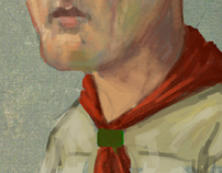 Scoutmaster, Hole in the Head: Speedpainting