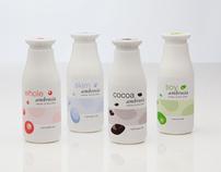 Ambrosia Milk Packaging