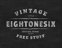 Chalkboard Style Vintage Badge (Free Download)