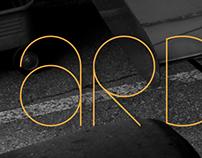 ARDENCY - typeface