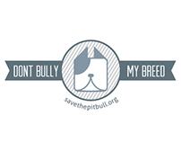 Dont Bully My Breed Logo