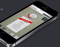 App Mock-up 1.0