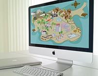 Cute Island Map