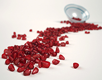 3D Pomegranate Seeds
