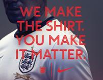 Nike: England National Team Kit Launch