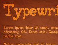 AA Typewriter Font (2010)