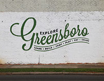 Explore Greensboro Mural