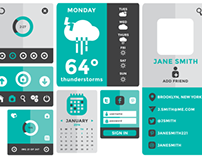 Flat User Interface Kit