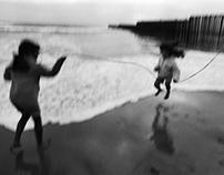 Diario desierto de mar y juegos