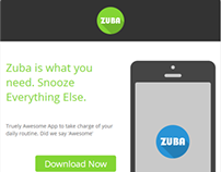 Zuba Responsive Email template