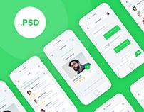 Free PSD App Design