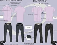 Ohana Florists Uniforms