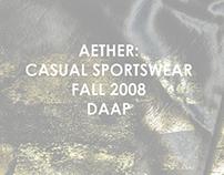 AETHER: CASUAL SPORTSWEAR FALL 2008