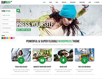 Subway - Responsive Multi-Purpose WordPress Theme