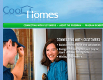 Cool Homes Contractor Web Portal