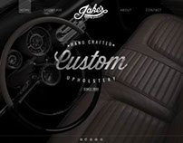 Jake's Custom Upholstery Website