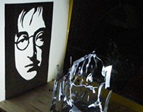 John Lennon - Shadow ARt