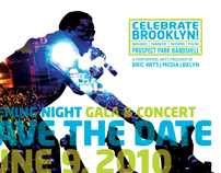 Celebrate Brooklyn! 2010 branding and collateral