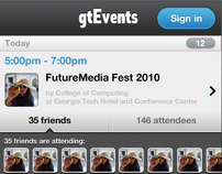 GaTech Mobile Event App