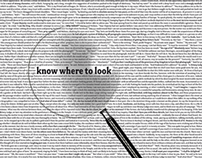 Know Where to Look