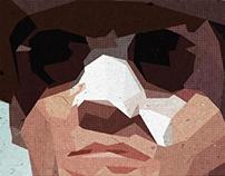 Remake de l'affiche du film Chinatown de Roman Polanski