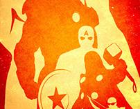 The avengers poster.