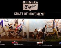 Escaparate y corner para Onitsuka Tiger en 24 kilates