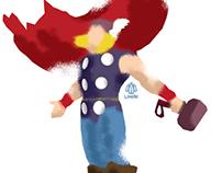 Thor Minimalist Splash