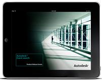Autodesk Event Search App