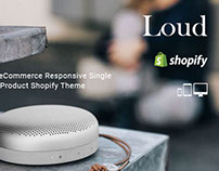 Loud eCommerce Responsive single Product Shopify Theme
