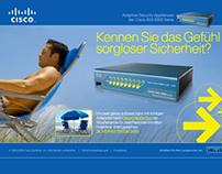 Cisco – Peace of Mind Security Microsite
