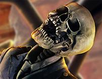 Skeleton pilot