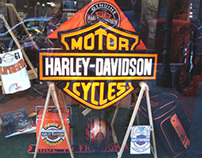 Escaparates para Harley-Davidson Iberia