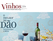 Vinhnos. magazine design