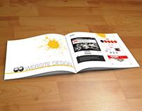 Booklet & Food Menu Card Design
