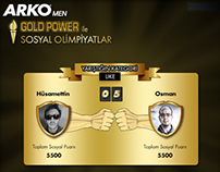 Arko Men Gold Power - Social Olympics