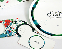 Dish Restaurant Identity