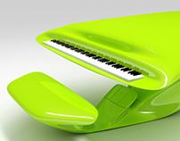 Alien piano