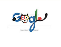 Google Doodle for Felix the Cat