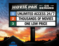 Advertising/Branding - MoviePAK On Demand Optimum TV