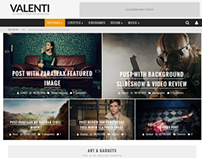 Valenti - WordPress HD Magazine