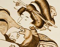 Manipulation of a Shunga