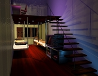 Animation- Backpackers Hostel Design