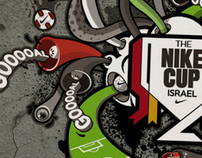 illustration for nike cup 2011 - israel