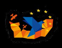 Logo 70ème anniversaire du Débarquement en Normandie