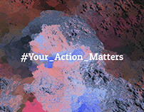#Your_Action_Matters; Interactive art installation