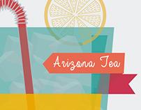 infographic Arizona Tea
