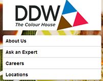 DDW Mobile Website