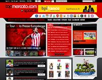 Intégration site Top Mercato
